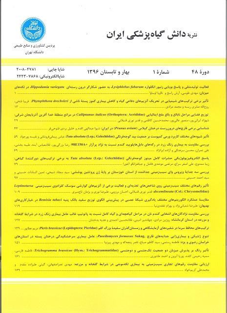 دانش گیاه پزشکی ایران